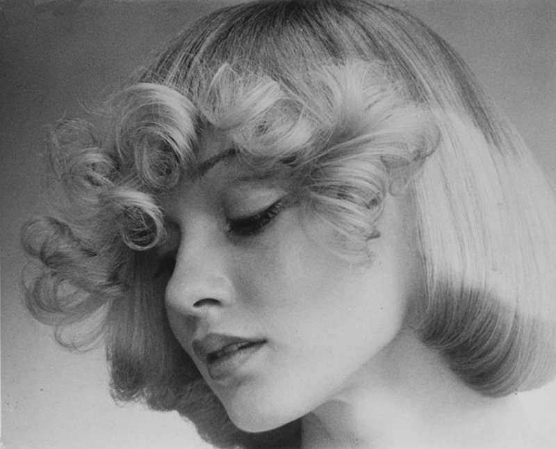 <p></p> <p> A dreamy romantic Femme Fatale by Raphael, with flicks curled softly, subtle darker shading of hair at the ends and in the crown area. Hair: Raphael Santarossa … Makeup: Jacques LaFleur … Model: Donna Clarke …Photo: Klaus Lucka</p>