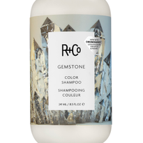R+Co's Reformulated Gemstone Shampoo and Conditioner Lock In Color For Up to 10 Washes