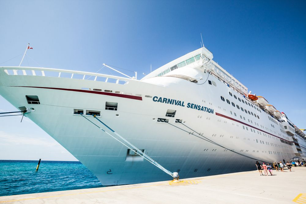 The Carnival Sensation took attendees from Miami to Grand Turk and back from February 23-27.