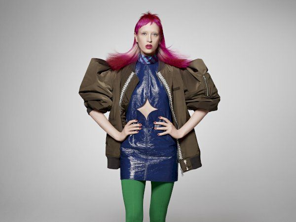 A variation look from the REMIX COLLECTION