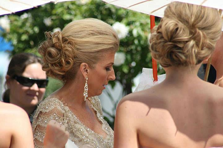 Wedding make up and hair by me
