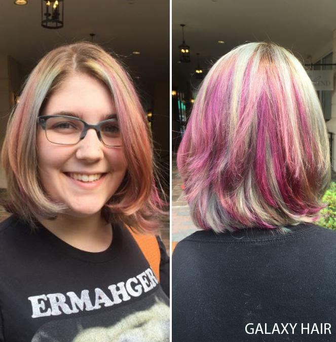 Galaxy Haircolor!