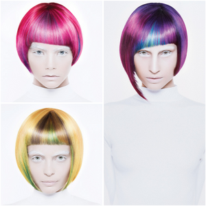 Haircolor Pattern Inspired by The Flower of Life
