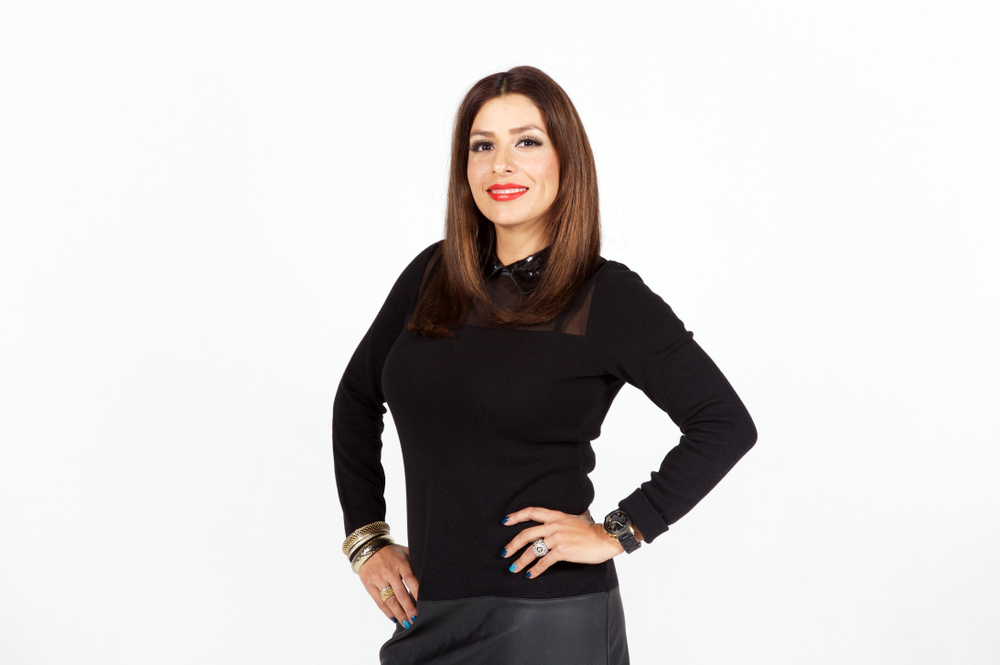 Karla Lopez-Martinez, co-owner of Gila Rut Salon in San Diego, CA.