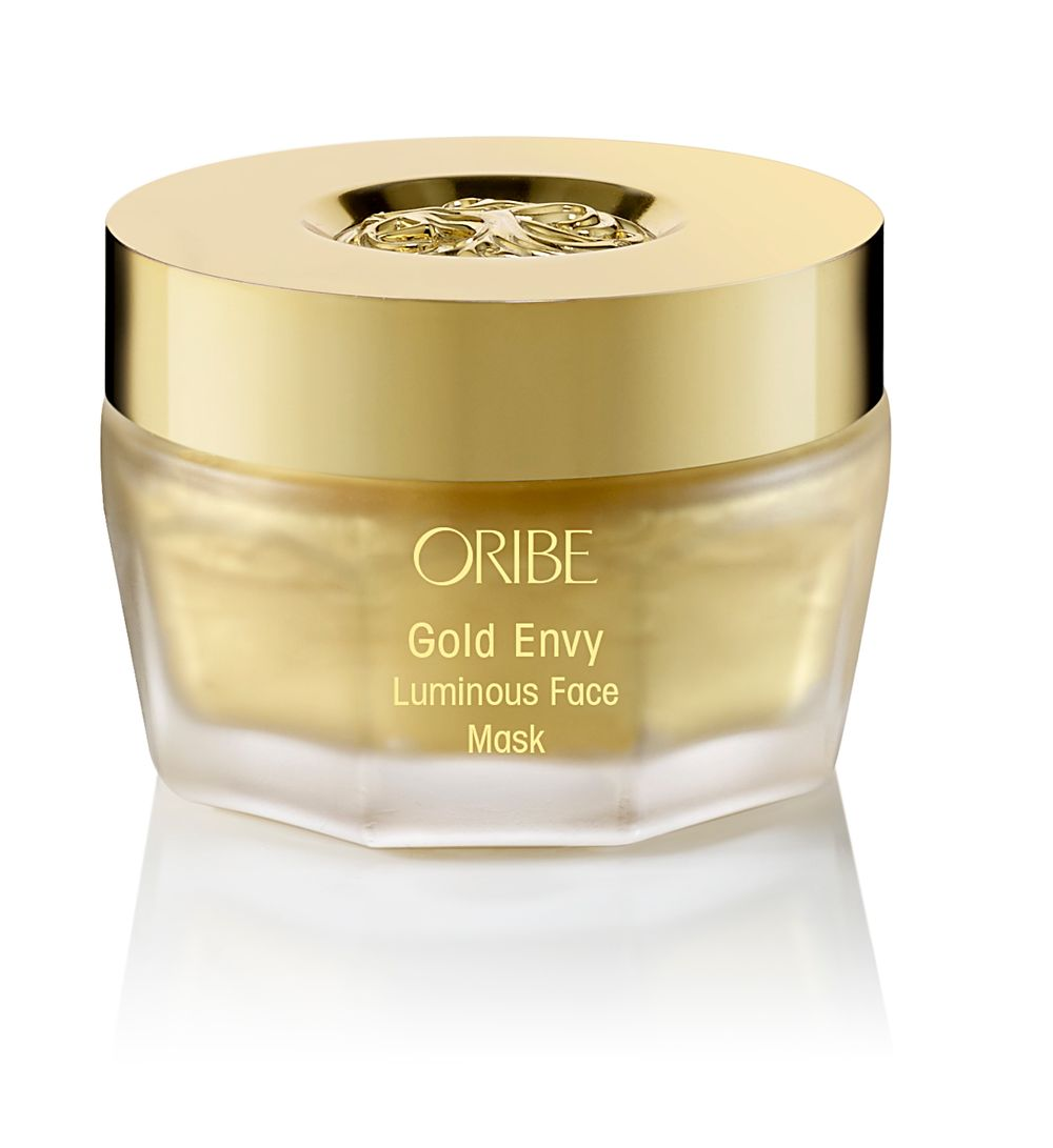 Gold Envy Luminous Face Mask: Real gold is delivered by peptides to illuminate and brighten skin. Apply to clean skin and let sit for 10-15 minutes to reveal radiant, soft skin.
