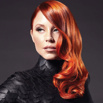 Lady in Red: Copper Color Formula from Goldwell