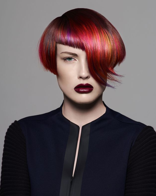 Goldwell ColorZoom Gold Finalist, Creative Colorist, Colette Jones of GiddyUp Salon & Spa (Okanogan, WA)