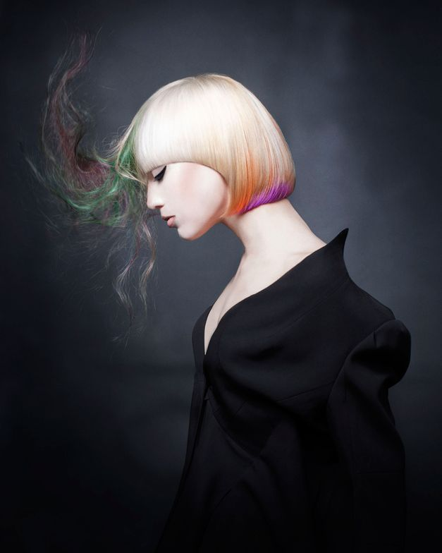 Gold finalist: Goldwell ColorZoom Partner Colorist, Daniel Rubin of Trio Salon (Chicago, IL)