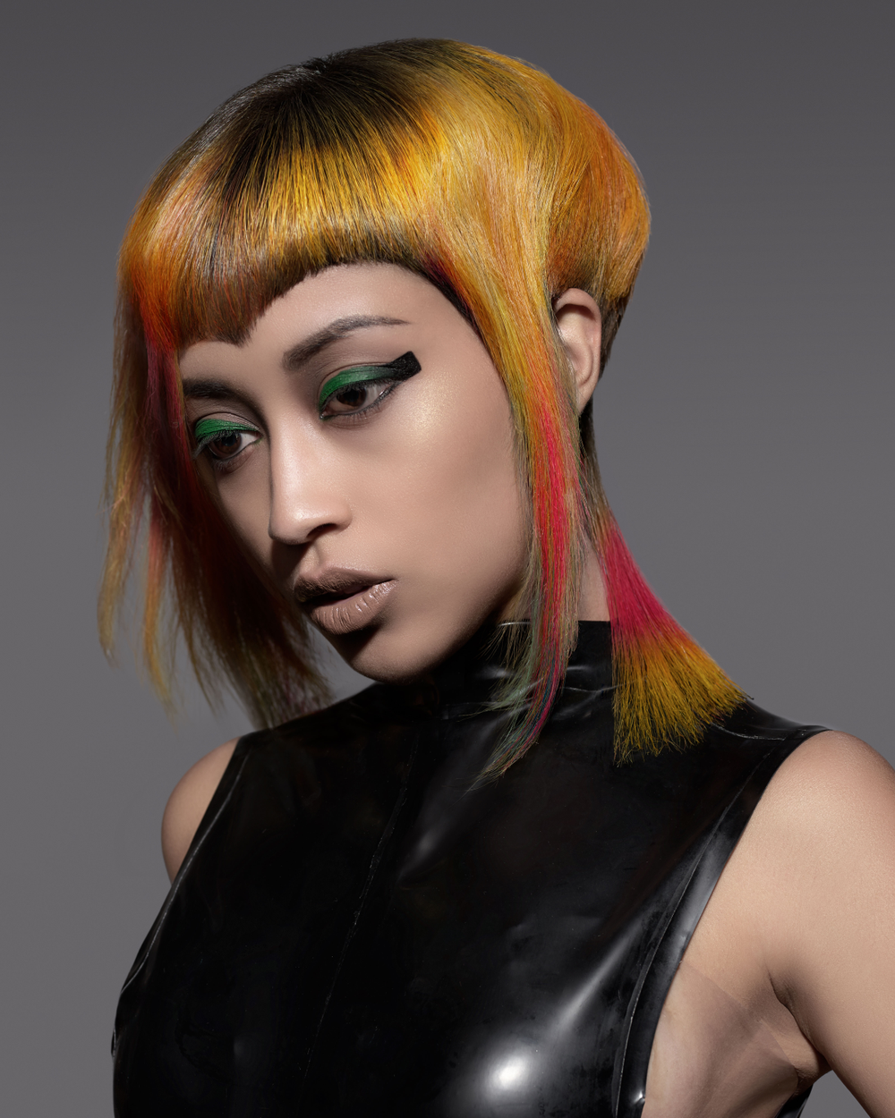 Goldwell ColorZoom Gold finalist, New Talent Colorist, Linda Cabrera of Hair By Scott & Co. (Delray Beach, FL)
