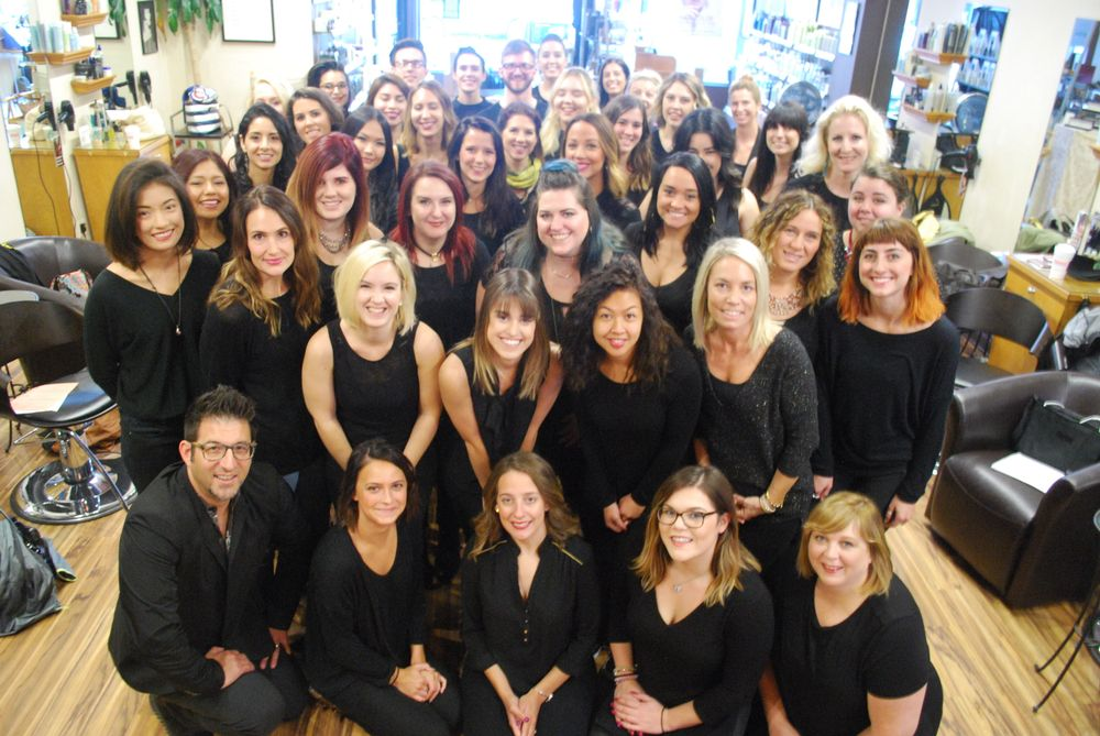 The team from Gordon Salon in Highland Park, IL.