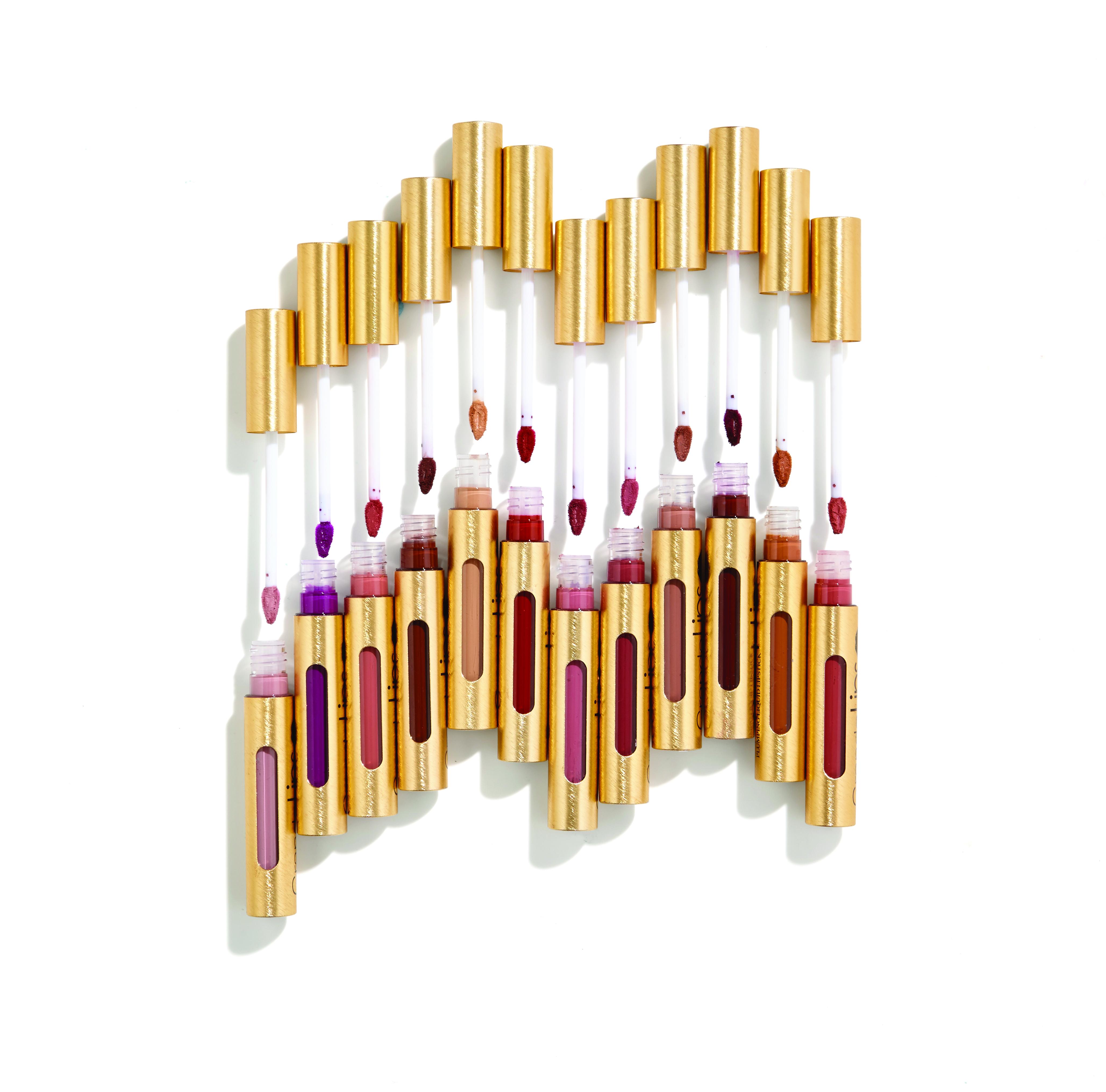 Grande Cosmetics Lip Plumping Liquid Lipstick.
