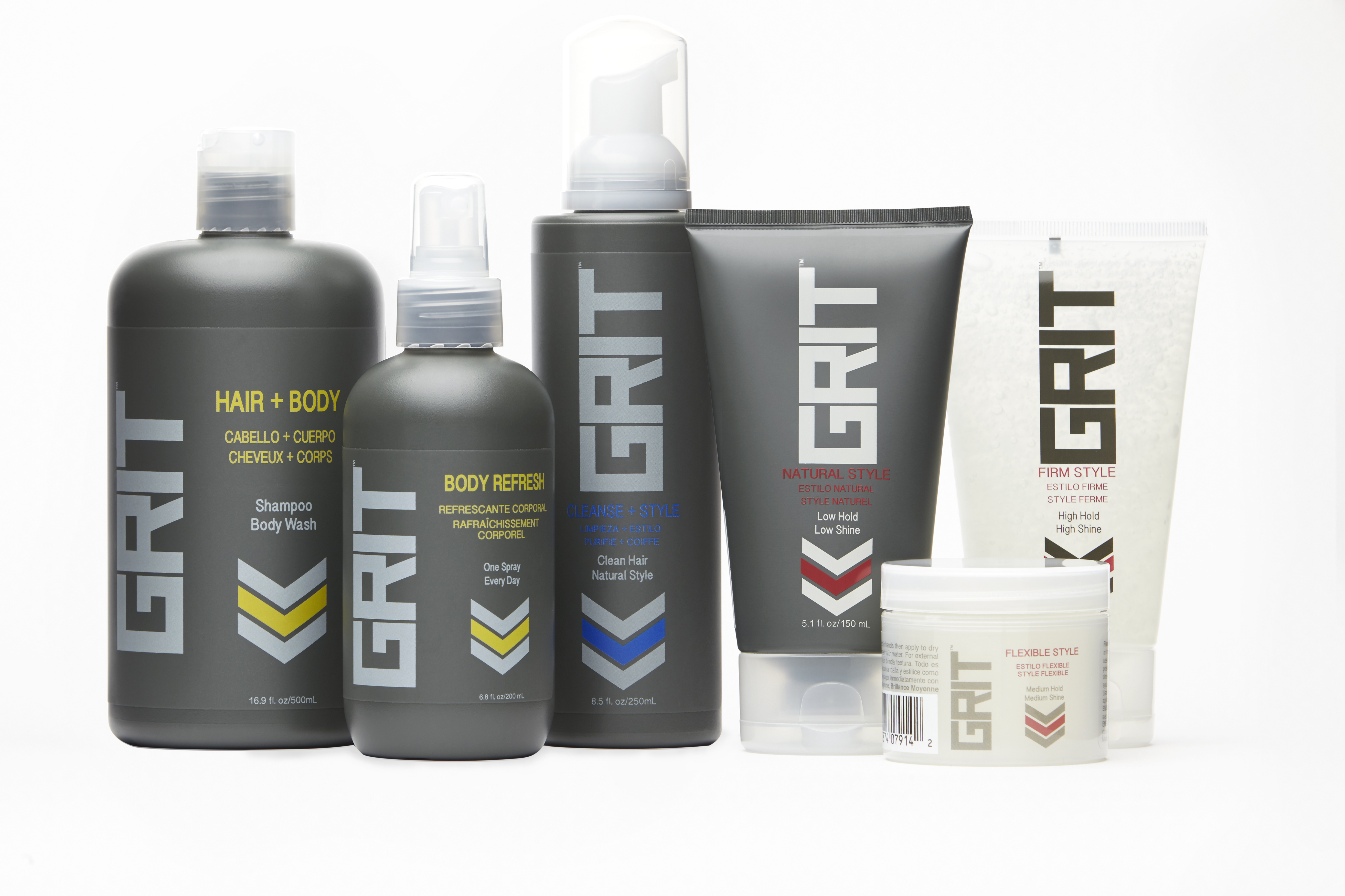 Great Clips' Grit Styling Collection