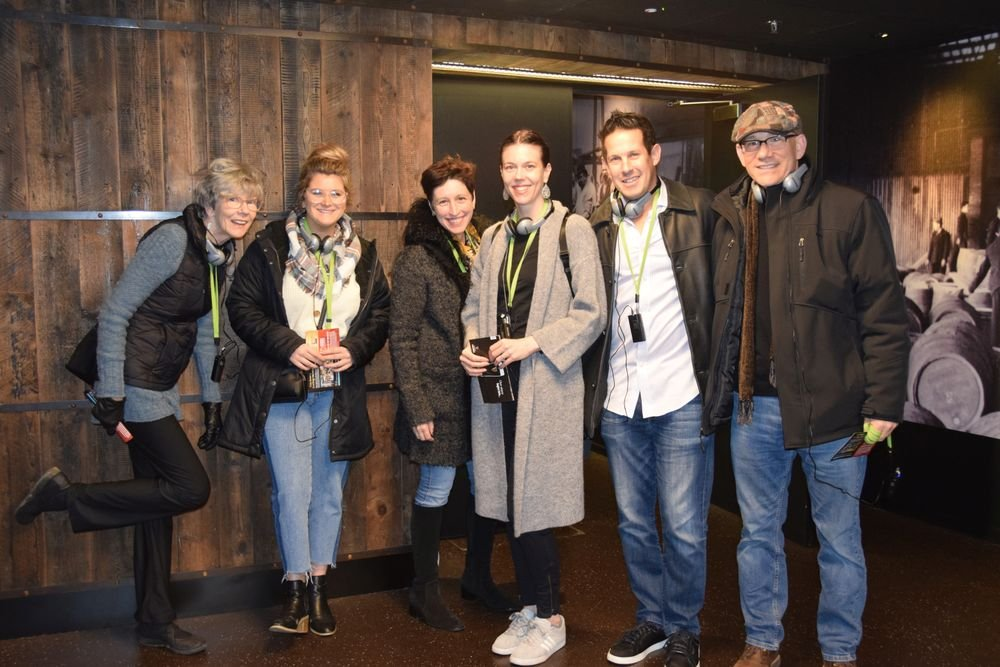 U.S. salon owners  offered rave reviews of the private tour of the Guinness Storeroom.