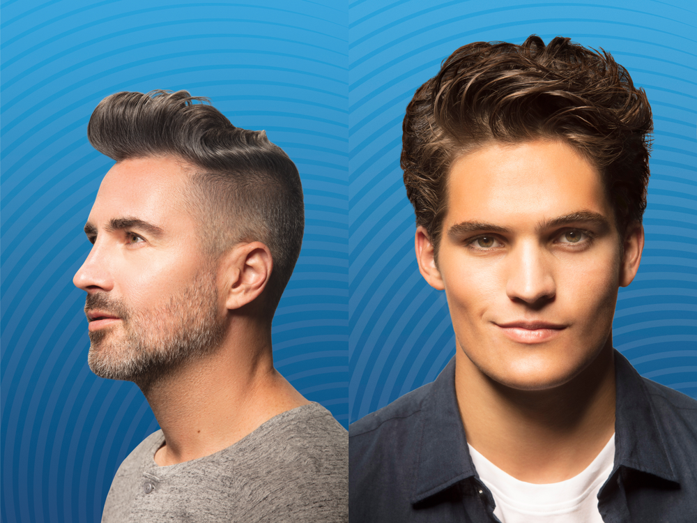 <strong>Try easing guys into new looks with styling products</strong>.
