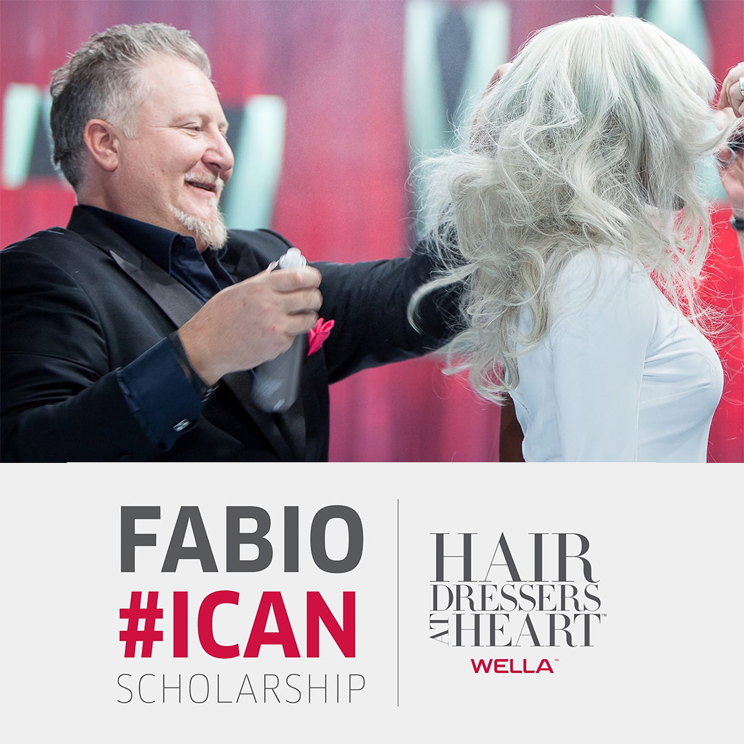Wella's Hairdressers at Heart Announces #ICAN Scholarship to Honor Fabio Sementilli