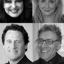 Karen Gordon, Terri Wojak, Steve Reiss and Jojo Kazarian