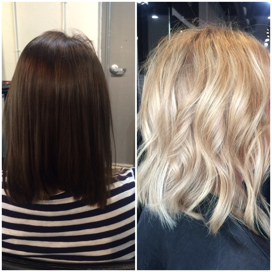 TRANSFORMATION: Level 4 Perm Dye to Dimensional Blonde in ONE DAY!