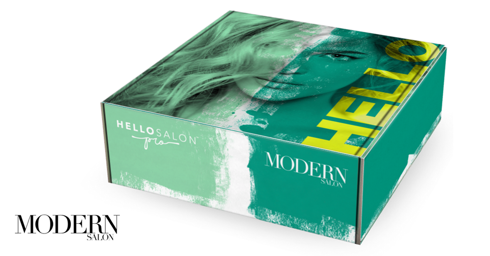 MODERN editors teamed up with Hello, Salon Pro to curate special, limited-edition Best of Show Beauty Box assortment of favorite professional products to complement Hello, Salon Pro's ongoing subscription series.