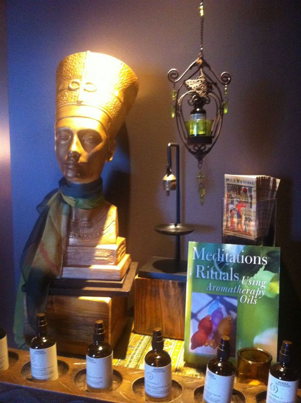 Nefertiti invites guests on an aromatherapy sensory journey at Habitude.