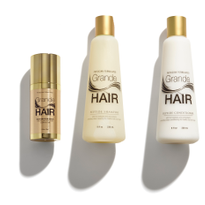 Grande Cosmetics Releases GrandeHAIR Rejuvenation Serum and Peptide Shampoo and Conditioner