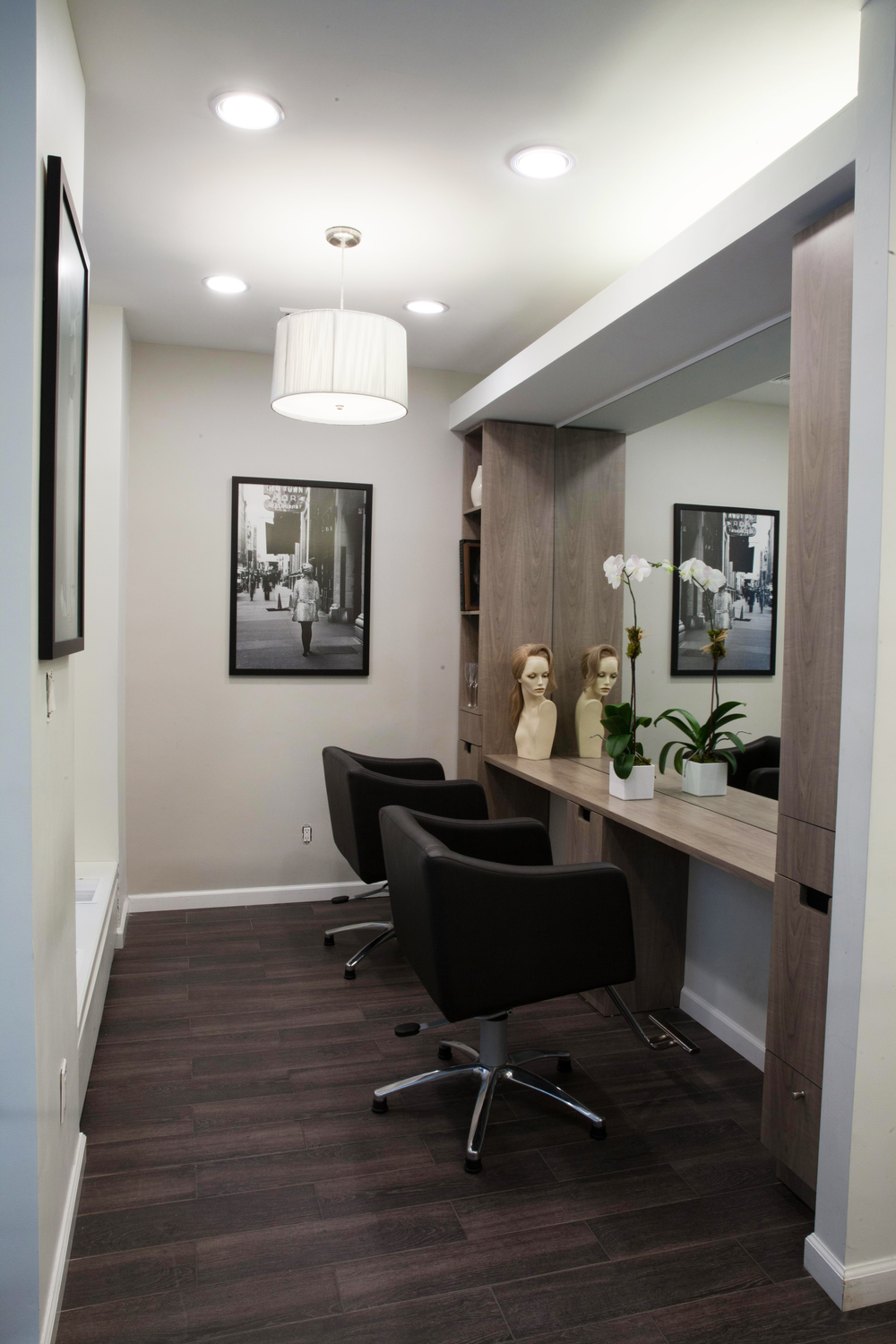 Hair Extension Room