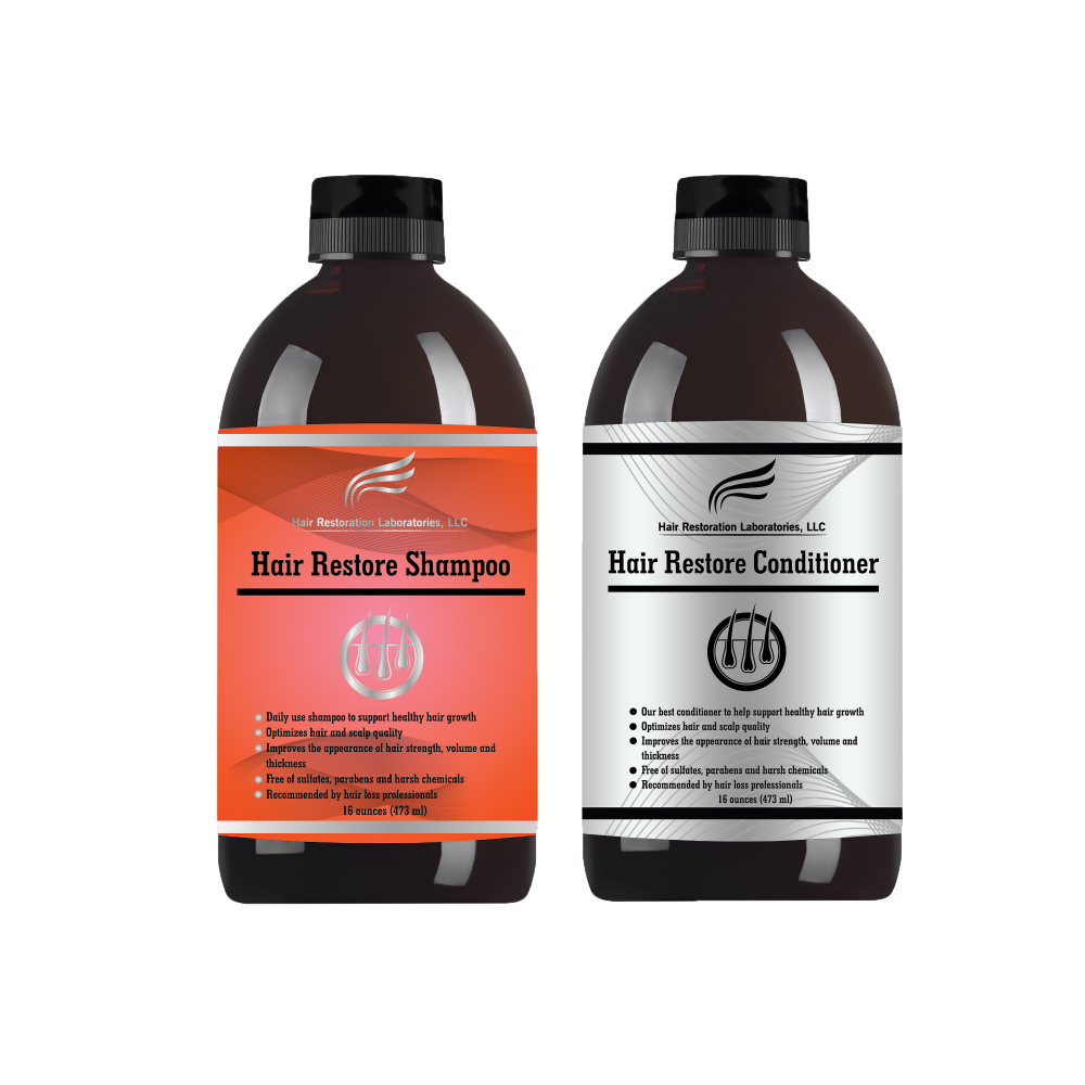 """<p><strong>Hair Restoration Laboratories' Hair Restore Shampoo and Conditioner set is """"Spex-approved"""" as a drug-free method for blocking the DHT hormone that has been proven to diminish hair follicles and lead to hair loss in susceptible men and women. For the first time, these products are available to salons to help clients with hair loss issues. Learn how you can become a distributor. (<a href=""""https://hairlossdhtshampoo.com/pages/become-a-distributor"""">https://hairlossdhtshampoo.com/pages/become-a-distributor</a>)</strong></p>"""