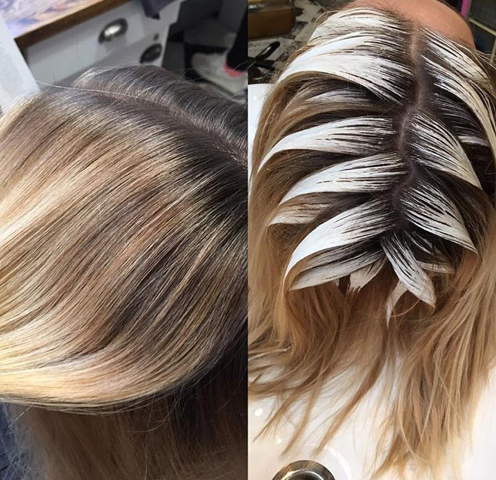 <p><strong>#hairpainting </strong><strong>751,000 tags:</strong></p> Even though #hairpainting is often comparable with #balayage, it's still a notable posting haven for colorists who are proud of the play of highs and lows in their color masterpieces.