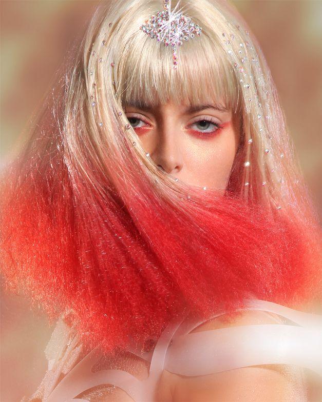 Hair: Robert Bushy Photography: Ara Sassoonian Makeup: Ekaterina Ulyanoff
