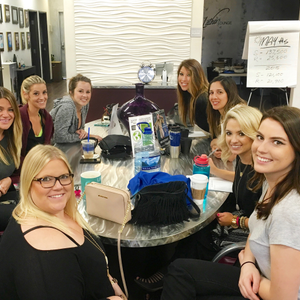 At Headlines The Salon, Culture Guardians meet with their assigned team members regularly to...