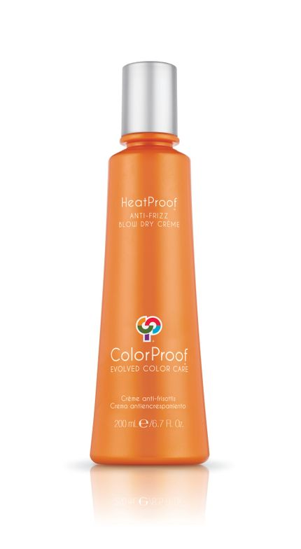 STEP 3: Apply HeatProof Anti-Frizz Blow Dry Crème throughout mid-lengths and ends.