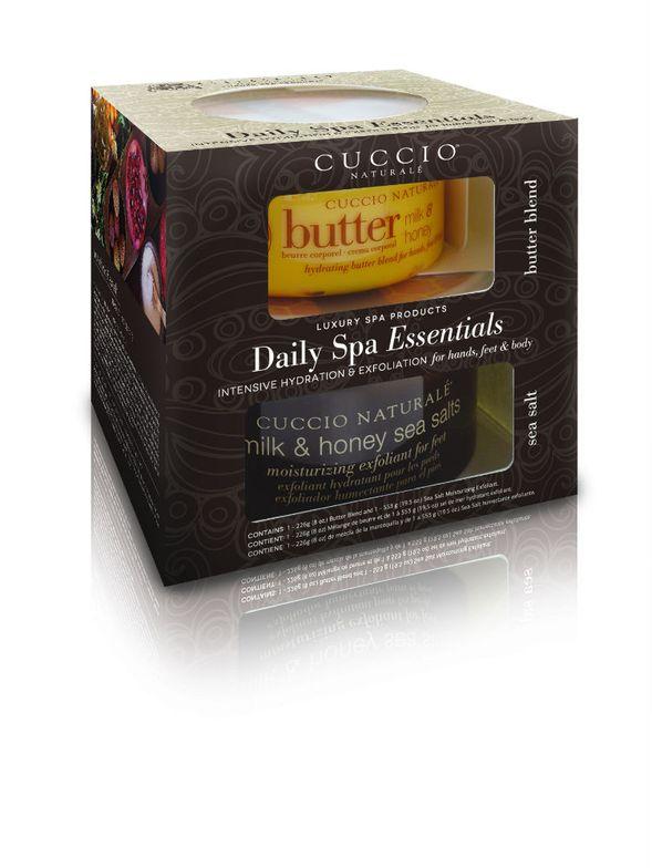 Cuccio Naturale Daily Spa Essentials Duo