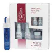 Timeless by Pevonia Travel Set with Aquage gift