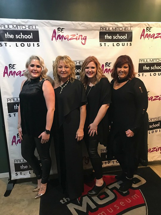 The salon owner team from Hollywood Hair Salon in Centralia, Illinois.