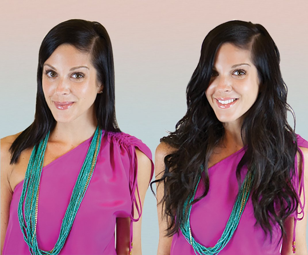 How-To: Tousled Beach Waves with Hotheads Extensions
