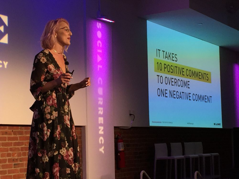 Jamie Dana (@jamiedanahairstylist) shares how social media helped bring positivity to her life