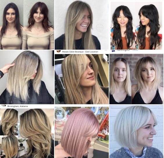 Curtain Bangs 14 Ways To Wear 2019 S Cool Girl Hair Cut Cut Modern Salon