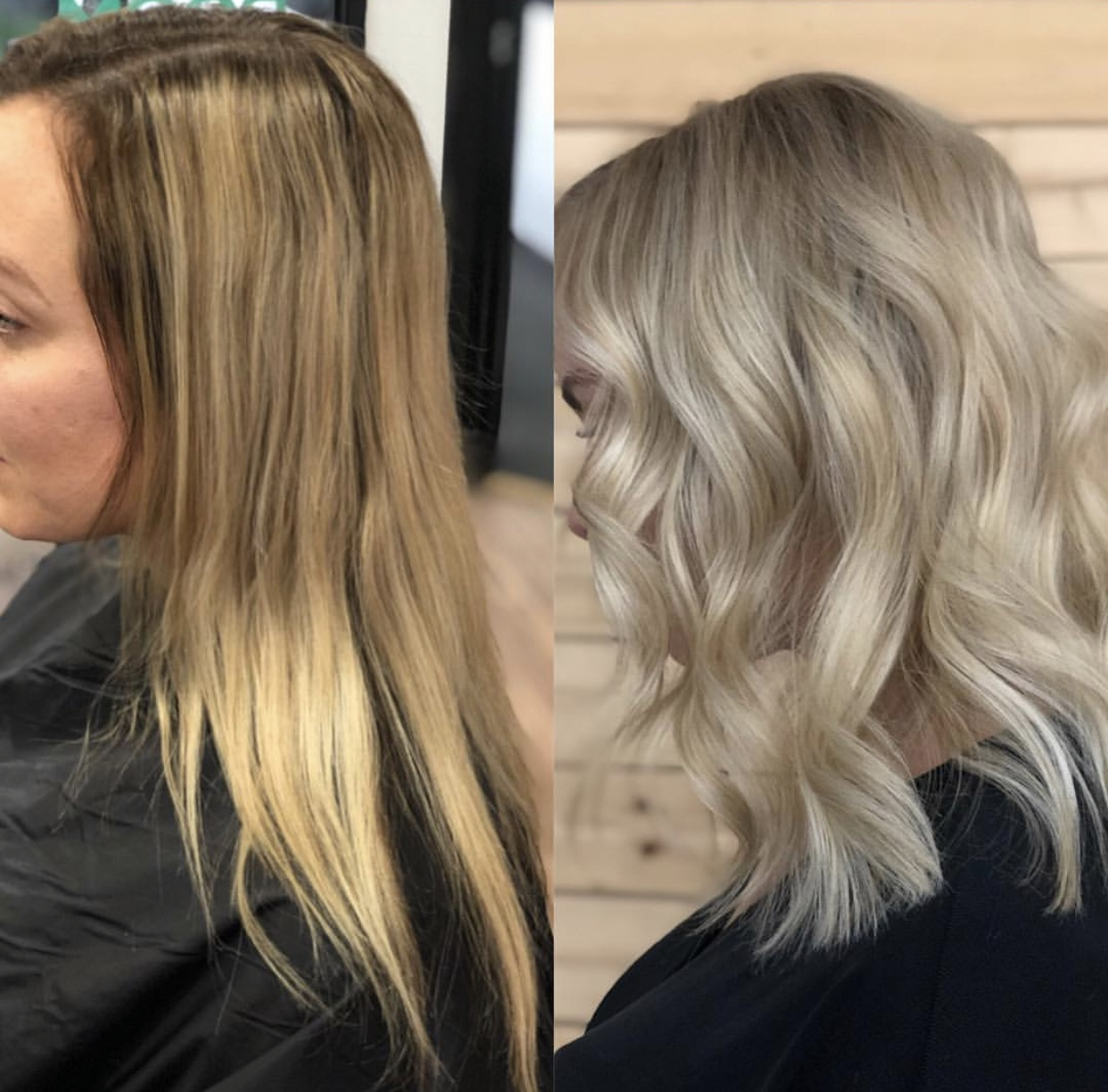 Spring-Approved Makeover: Creamy Blonde and Fresh Shape