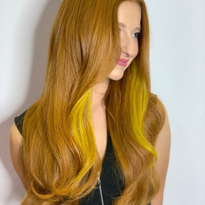 How to Create Contrast in Red Hair Transformations Using Tape-In Extensions