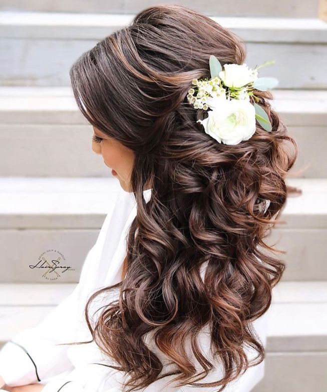 """""""I think this is one of my fav styles for weddings. Side swept and volume!"""""""