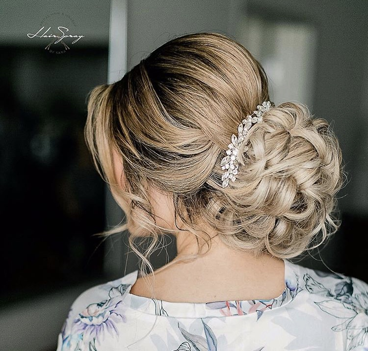 """""""I think accessories should never OVERPOWER your updos and styles. They should be a compliment to the style, NOT the center of attention."""""""