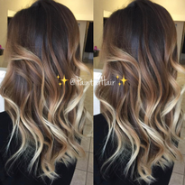 "Marshmallow Latte Melt: ""Sessions are the key to creating multidimensional colors like this!..."