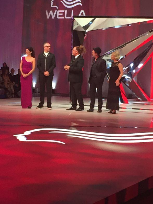 (From left) Michelle Mason, Josh Wood, Patrick Cameron, Eugene Souleiman, Sylvie Moreau