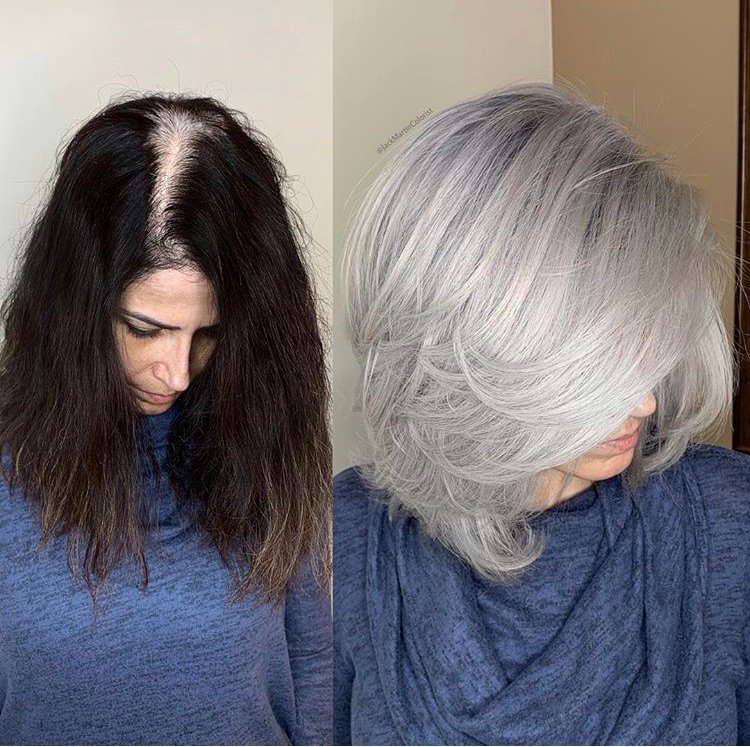 10 Times Jack Martin Helped His Clients Go Gray
