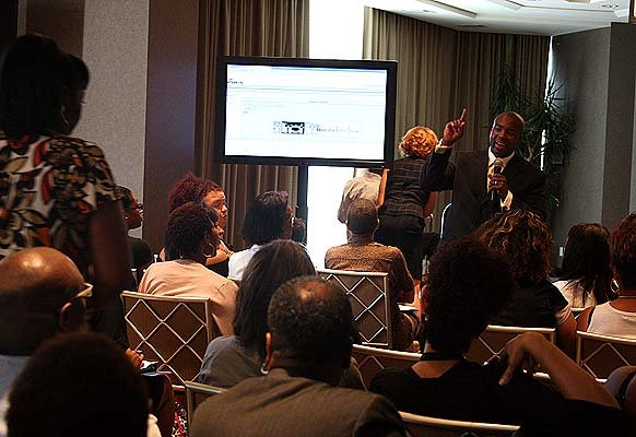 Mizani's Education Event at Trump Towers!