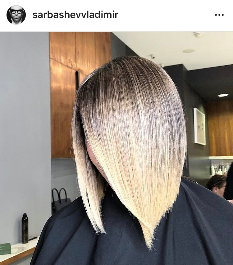 With AirTouch, as long as the colorist uses the same technique—tension on the perimeter lengths and using a blow dryer to push the shorter hairs or internal layering out of the way, only the new growth needs lightener.