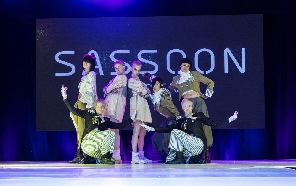 The education team from Vidal Sassoon performed during ISSE 2016.