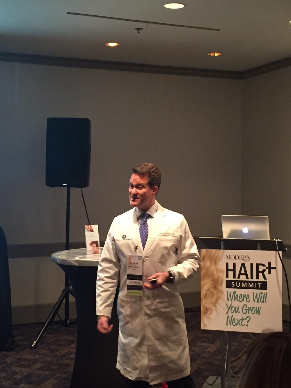 Dr. Bruce Bauman talks about Viviscal Professional