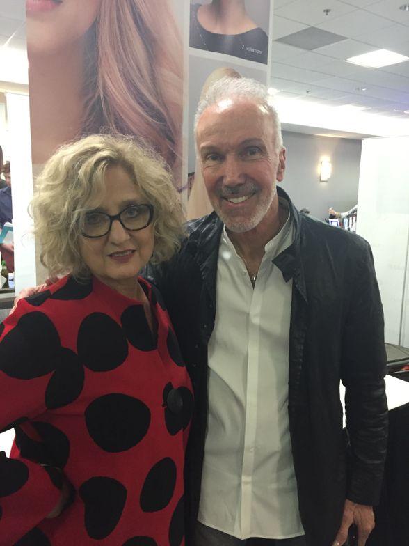 Sue Hanson and Glenn Milliet of Evolve Hair Solutions