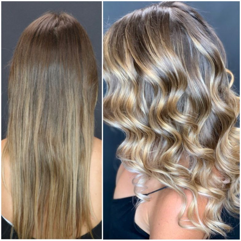 The winning makeover by Payal Patel (@hairbypayal). Payal used perfect placement and formulation for this color conversion.