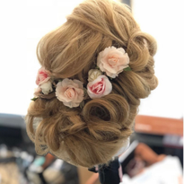 5 Tips for Creating the Perfect Updo, Courtesy Sharon Blain